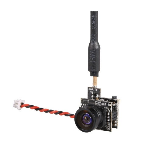 Turboing 700TVL FPV камера NTSC 5.8G 48CH 25 мВт передатчик VTx для JJRC H36 T36 Quadcopter Blade Inductrix Micro FPV Drone