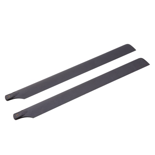 Carbon Fiber Main Blades for 700 Class RC Helicopter