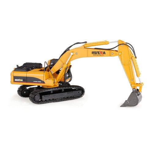 HUI NA TOYS 1711 1/50 Drill Escavatore veicolo di ingegneria con lega Breaking Hammer Kids Toy Housing Decoration Collection