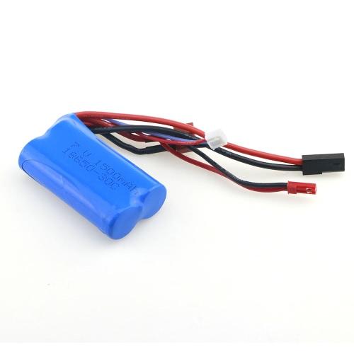 WSX-S07 7.4V 1500mAh 30C Batería Lipo para WLtoys 12428 FEIYUE FY-03 JJRC Q39 MJX F45 WL912 MJX F49 SUBOTECH BG1513