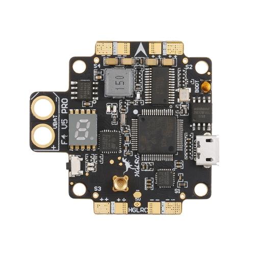 HGLRC XJB F4 V5PRO Flight Controller with 5.8G Transmitter OSD 5V BEC PDB for FPV RC Racing Drone