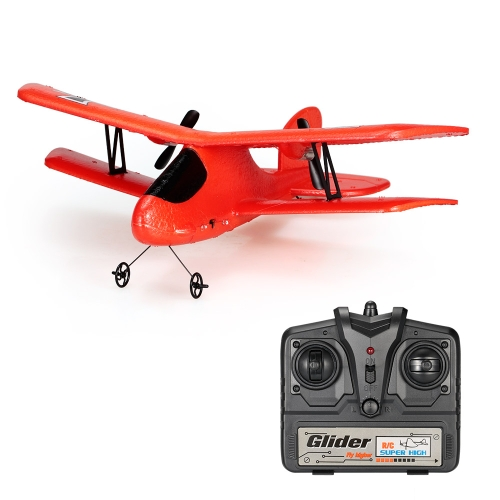 Flybear FX-808 2.4G 2CH Controle Remoto Glider 300mm Wingspan EPP Micro Indoor RC Airplane RTF