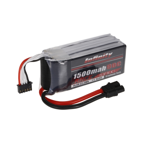 Infinity 4S 14.8V 1500mAh 90C LiPo Battery SY60 for XT60 Plug 250 280 F330 Racing Drone Quadcopter