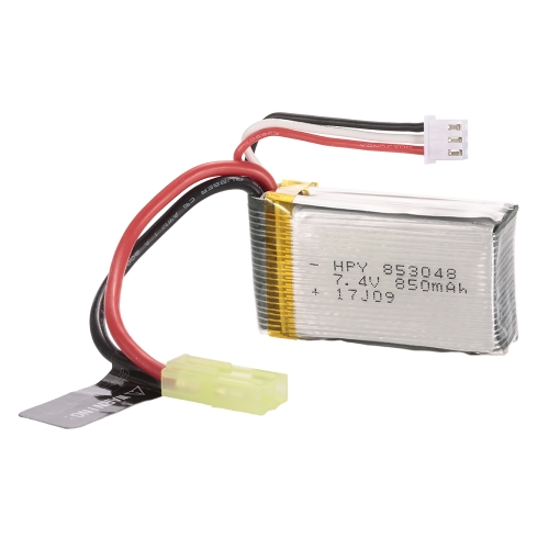 7.4V 850mAh Li-po Battery for PXtoys 9302 1/18 4WD Off-road RC Buggy