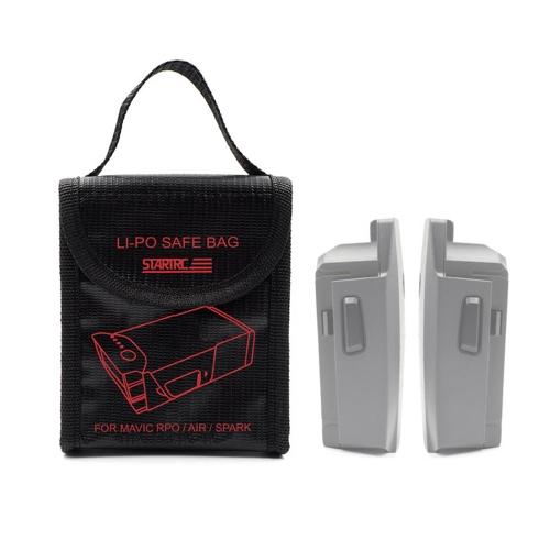 Drone Esplosivo STARTRC Battery Bag Custodia di sicurezza per DJI Mavic AIR PRO Spark Drone