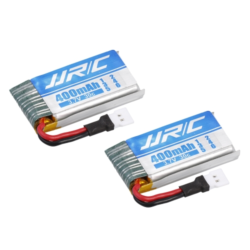2pcs Original JJR/C H44WH 3.7V 400mAh 30C Lipo Battery for JJR/C H44WH WiFi FPV Drone RC Quadcopter