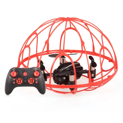 Z2 2.4G 4CH 6-Axis Gyro Full Protective RC Quadcopter One-key Return Drone