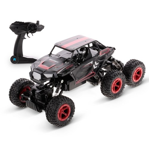 D819 1/14 2.4 GHz 6WD RC Rock Crawler Buggy Escalada Off-Road Truck Car Toy Crianças