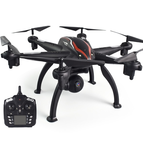 L100 2.4G 720P Wide-Angle WiFi FPV Camera 6-axis GPS RC Drone