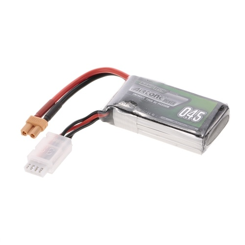 11.1V 450mAh 30C 3S Rechargeable Li-Po Battery with XT30 Plug for RC Racing Drone Quadcopter Helicopter Airplane Car Truck