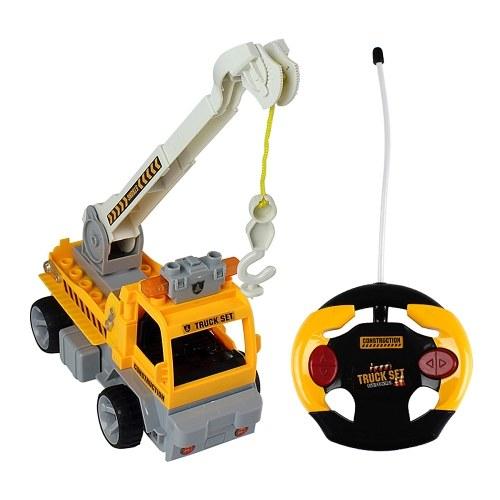 19Pcs DIY Building Blocks Car 1/18 инфракрасный пульт дистанционного управления RC Car