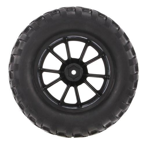 4PCS 1/10 pneu Nail Block bande de roulement 10 rayons Rim pour 1/10 HSP HPI Redcat RC4WD AXIAL RC voiture
