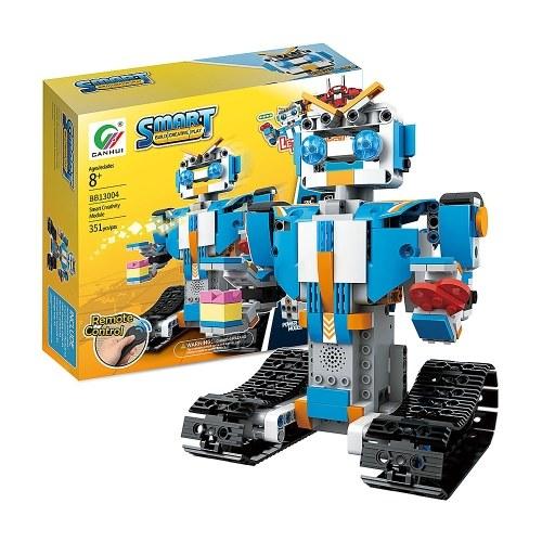 BB13004 M4 351PCS DIY 2.4G Smart Remote Control Building Block RC Robot Toy