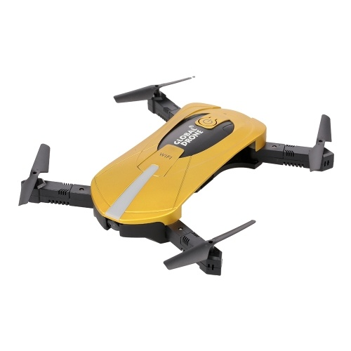 GW018 720P Wifi FPV Wide-angle Camera  Foldable Selfie Pocket Mini Drone