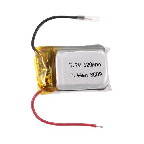 3,7 V 120mAh Bateria Lipo