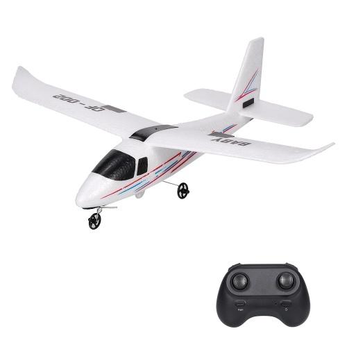 2.4GHz 2CH Small Plane DIY Flight RC Airplane Toys for Kids Boys