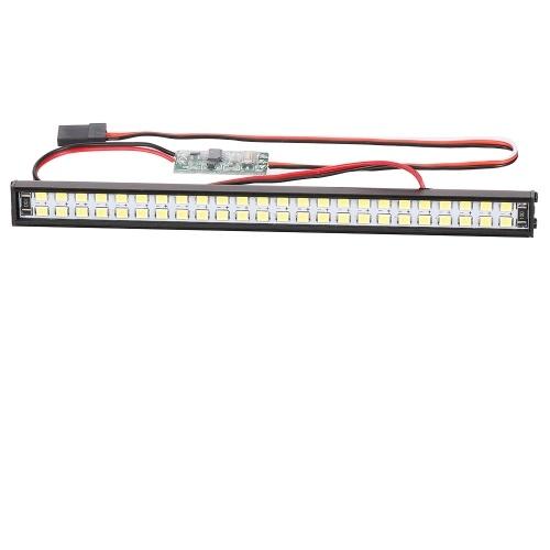 RC LED Lights Bar 147mm / 5.8in Lampe de toit en métal Phare 48LEDs Lumière