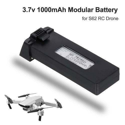 3.7v 1000mAh Modular Battery for S62 RC Drone