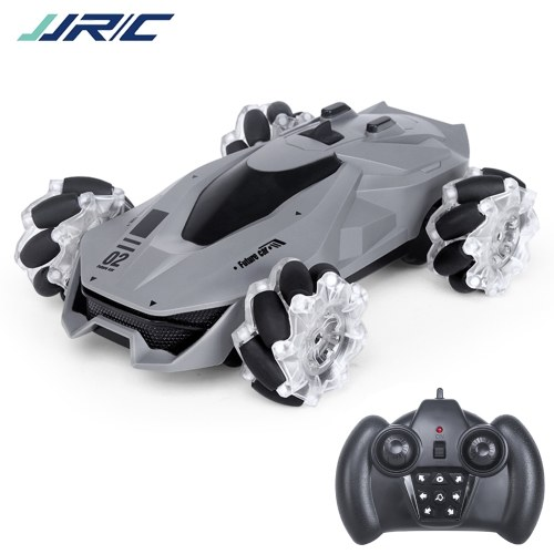 JJRC Q92 1:24 2.4G 4WD RC Stunt Car Remote Control Car 360¡ãRotation with LED Light and Music RC Car Image