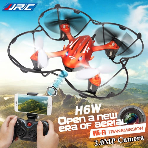 Original JJRC H6W 2.4G 4CH 6-Axis Gyro RC Quadcopter Wifi FPV Real-time Transmission Drone with 2.0MP HD Camera