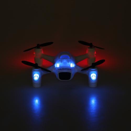 Hubsan H107C + 2,4 GHz 4-Kanal 6-Achsen-Gyro RC Quadcopter RTF Drone mit 720p HD-Kamera