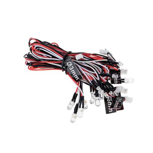 GTPOWER gesteuertes / simuliertes und blinkendes Lichtsystem für 1/8 1/10 RC Auto