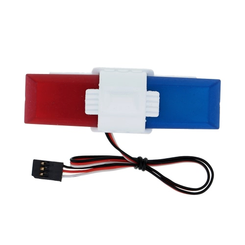 G.T.Power Police Car Lighting System with 8 Kinds of Flashing Mode for RC Car