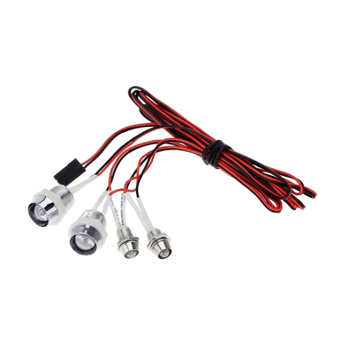G.T.POWER L4 LED Light System for RC Car Truck Model
