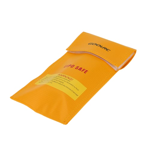 GoolRC 20 * 10cm Golden High Quality Glass Fiber RC LiPo Battery Safety Bag Safe Guard Charge Sack