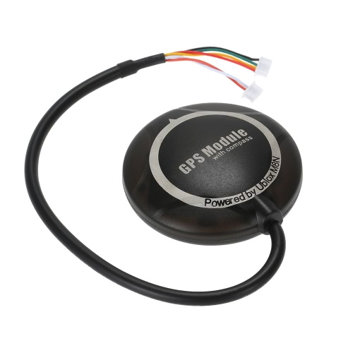 NEO-M8N GPS Module with Black Shell Case for APM2.6 2.8 Flight Controller