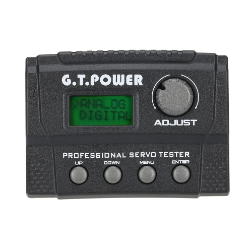 G.T.POWER Professional Servo Tester for RC Aircraft Helicopter Car Servo