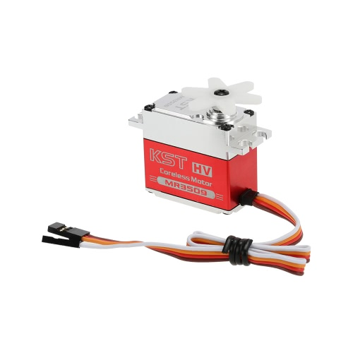 ロボットのためのオリジナルKST MR3509 HVアルミ合金ケース非接触位置センサスチールギアデジタルサーボ