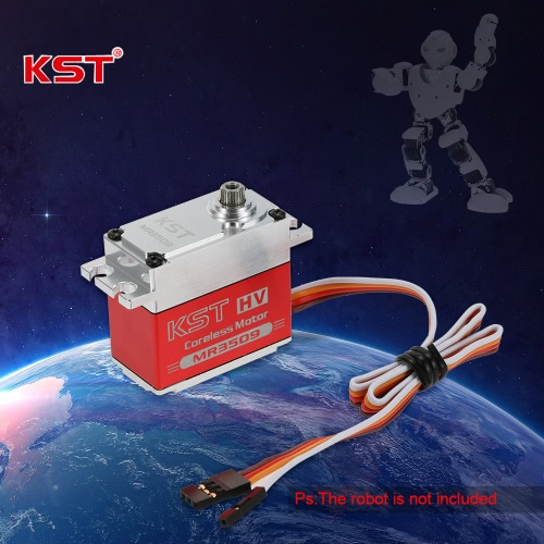 Original KST MR3509 HV Aluminum Alloy Case Contactless Position Sensor Steel Gear Digital Servo for Robot