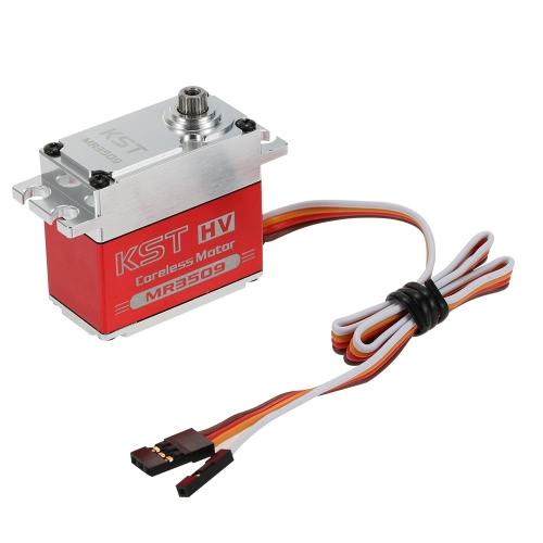 Оригинальный KST MR3509 HV Корпус из алюминиевого сплава Бесконтактный датчик положения Стальной редуктор Цифровой сервопривод для робота