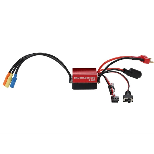Original GoolRC S2838 3200KV Sensorless Brushless Motor e 35A Brushless ESC Combo Set para 1/12 1/14 RC Car Truck