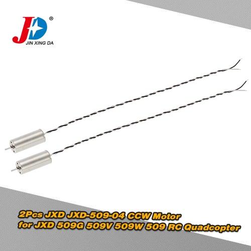 JXD 509G 509V 509W用の2個オリジナルJXD JXD-509から04 CCWモーター509 RCクワッドローター