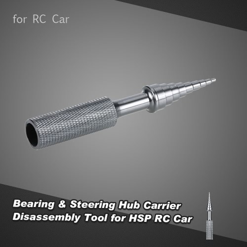 Aluminum Alloy Bearing & Steering Hub Carrier Disassembly Tool for HSP Tamiya HPI Kyosho RC Car
