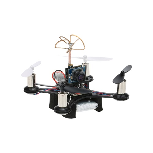 CTW-Mini90 Tiny FPV Indoor 90mm Micro Racing Drone with Frsky SBUS-PPM Receiver F3 EVO Brushed Flight Controller 1 Extra   Battery BNF