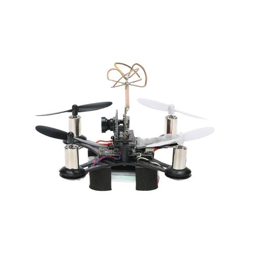 CTW-Mini90 Tiny FPV Indoor 90mm Micro Racing Drone avec Frsky SBUS-PPM Récepteur F3 EVO Contrôleur de vol brossé 1 batterie supplémentaire BNF