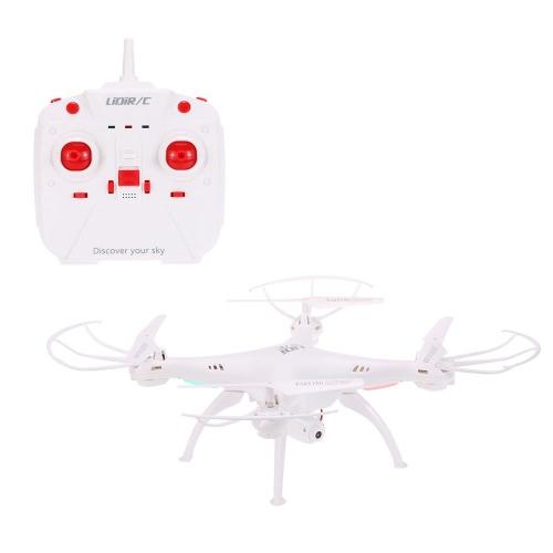 Oryginalny Lidi RC L15W 2.4G 4CH 6-Axis Gyro Wifi FPV Przekładnia RC Drone RTF Quadcopter z 0.3MP kamera 360 ° Klapki One-key Return Altitude Warowni