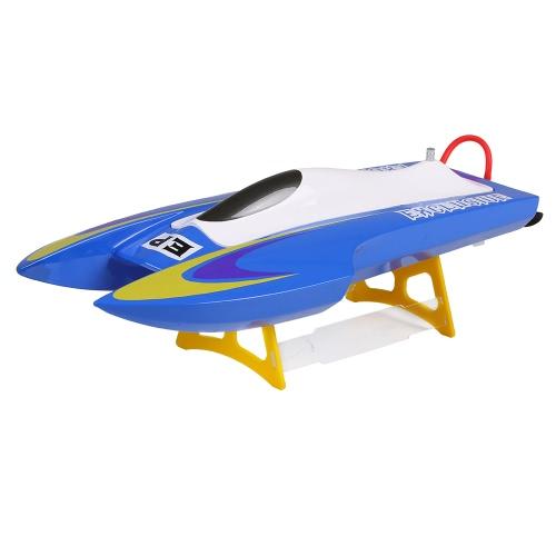 NO.M440 Близнецы 40KM / h Высокоскоростные электрические бесщеточные стекловолокна RC Racing Boat