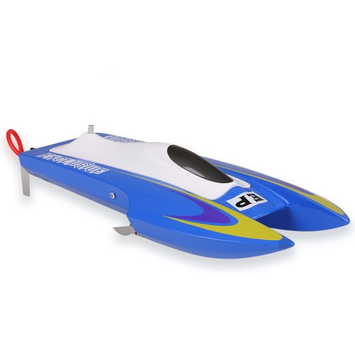 NO.M440ジェミニ40㎞/ hの高速電動ブラシレスファイバーグラス製RCレーシングボート
