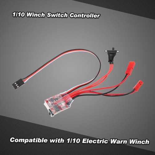 1/10 Winch Switch Controller for RC 1/10 JEEP Axial SCX10 AX10 Tamiya CC01 HSP Traxxas RC4WD Rock Crawler