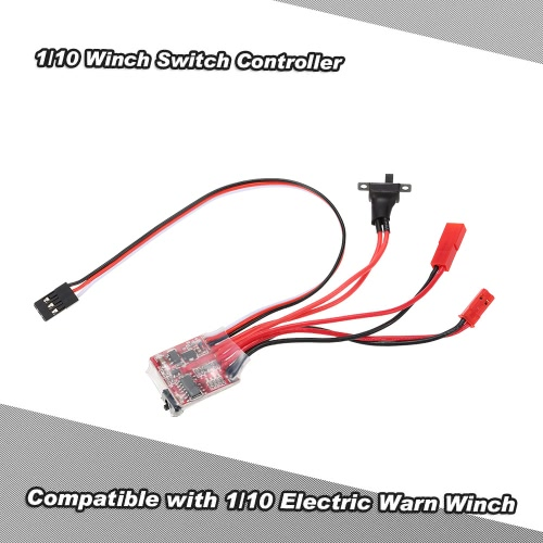 1/10 Switch Controller Argano per RC 1/10 JEEP Axial SCX10 AX10 Tamiya CC01 HSP Traxxas RC4WD Rock Crawler