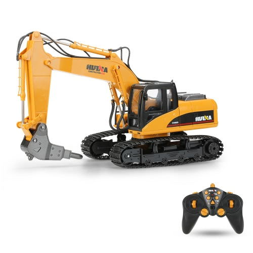 HUI NA TOYS NO.1560 Excavator Broken Disassemble RC Truck 2.4G 16CH Engineering Vehicle Toys