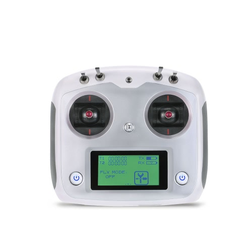 Original Flysky FS-i6s 2.4G 10CH AFHDS 2A Touchscreen Transmitter with FS-iA6B 6CH Receiver for RC Airplane Helicopter Multicopter