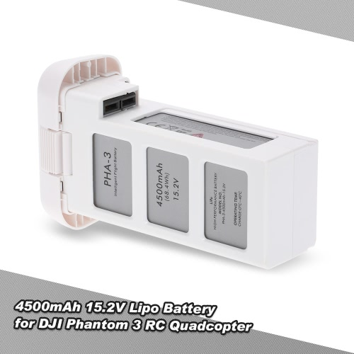 4500mAh 15.2V 4S Intelligent Flight Lipo Battery for DJI Phantom 3 Professional Advanced Standard Version RC Quadcopter