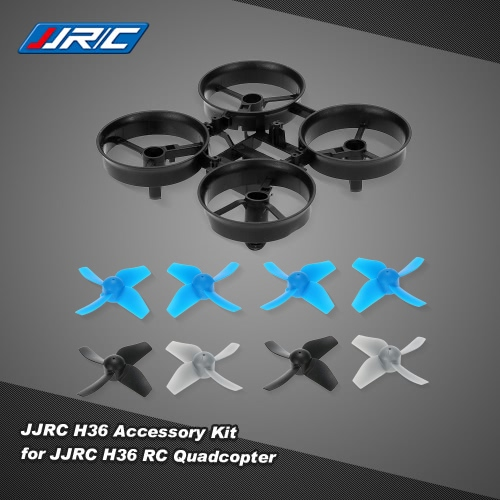 Original JJRC H36 Bottom Body Shell 4 Pair Propeller for Inductrix Blade JJRC H36 NH-010 RC Quadcopter