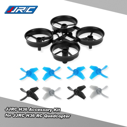 JJRC H36 Bottom Body Shell 4 Pair Propeller for Inductrix Blade JJRC H36 NH-010 RC Quadcopter