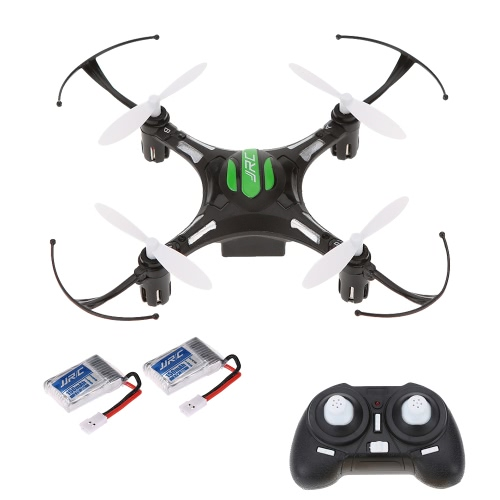 Original JJR/C H8 Mini 2.4G 4CH 6-axis Gyro RC Quadcopter 3D Flip CF Mode One Key Return Drone with One Extra Battery RTF